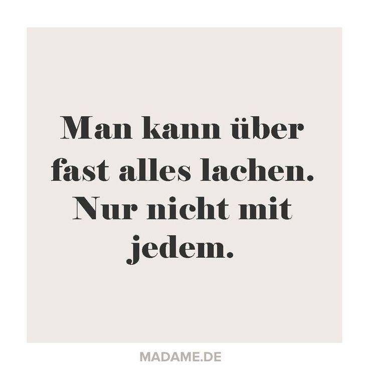 sprüche zum lachen | Spruch übers Lachen - Bilder - Madame.de