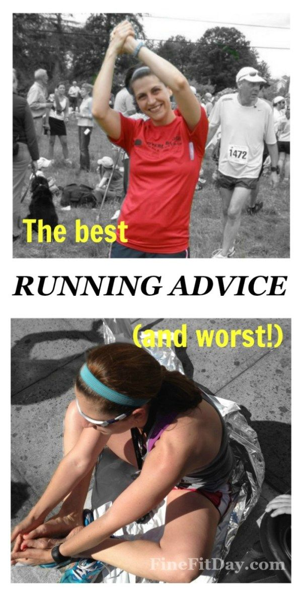 Run It - The best and worst running advice. 6 running coaches and bloggers share the best (and worst!) advice for racing and running they've heard.
