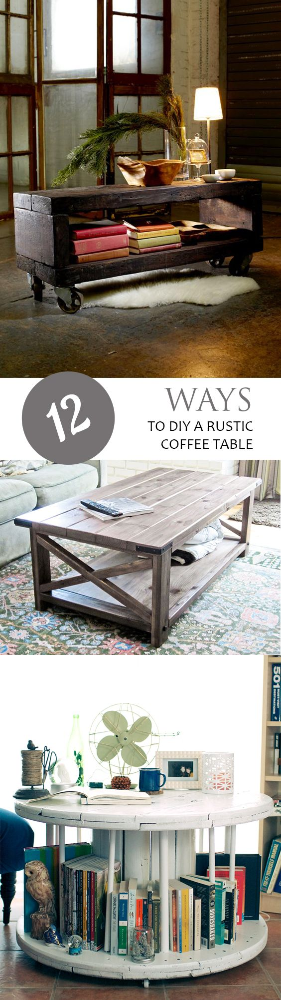 DIY Coffee Table, Easy DIY Coffee Table, Coffee Table Tutorials, DIY Furniture, Easy DIY Furniture, Fast Furniture Projects, SImple DIY Home Projects, Popular Pin, Coffee Table DIYs