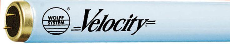 Tanning Bed Lamps Bulbs Velocity Bronzing F71 T12 100 Watt FREE STARTERS  Qty 24 #WolffVelocity