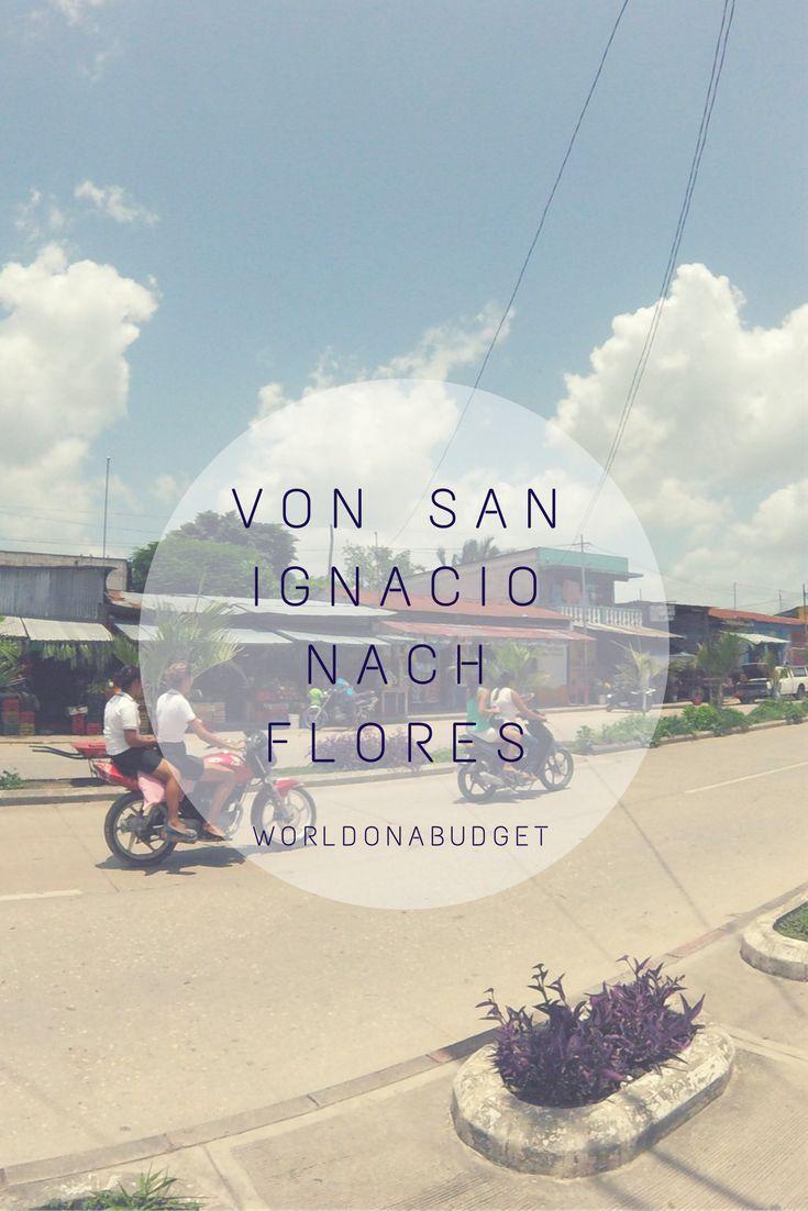 Von #SanIgnacio in #Belize nach #Flores in #Guatemala auf eigene Faust. Wie man mit öffentlichen Verkehrsmitteln und ohne Schlepper entspannt über die #Grenze kommt. Und das in nur drei Stunden!  #Reisebericht