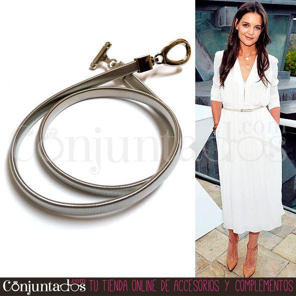 El #cinturón metálico plateado con cierre de estribo es un #complemento #clásico que combina con multitud de prendas de tu guardarropa. Un #accesorio atemporal que podrás conjuntar fácilmente con cualquier look. ¡También lo tenemos en dorado! ★ ¡#REBAJAS! en http://www.conjuntados.com/es/cinturones/cinturon-metalico-plateado-con-cierre-de-estribo.html ★ #novedades #belt #fashion #moda #estilo #style #discounts #oferta #regalos #detalles #GustosParaTodas #ParaTodosLosGustos