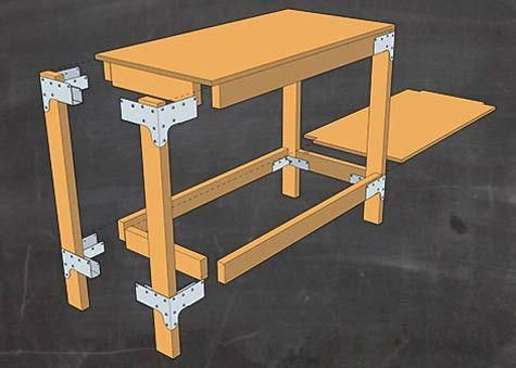How to Build a Workbench or Shelving Unit for Your Garage or Shed