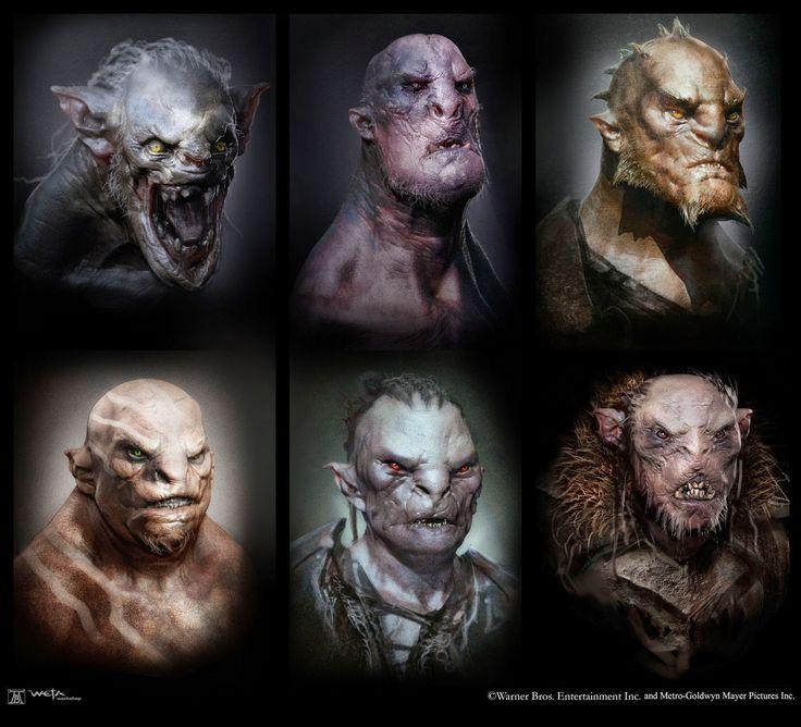 Orcs, Trolls & Wraiths Concept Art For Peter Jackson's The Hobbit Finale | Comicbook.com