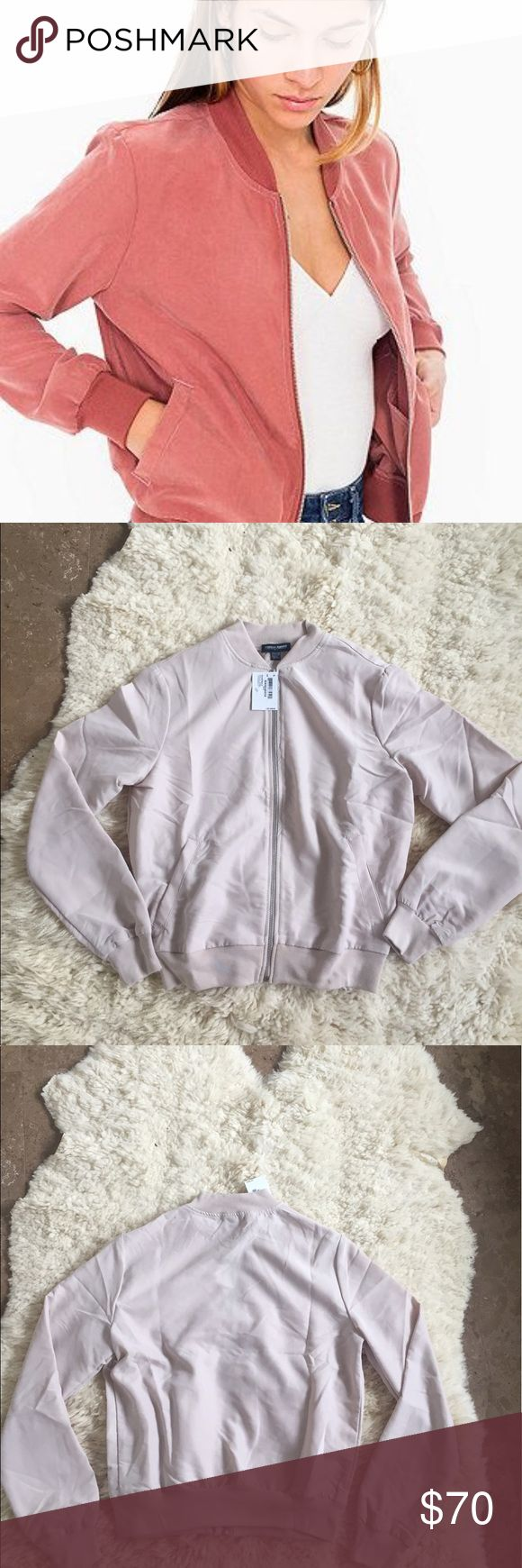 American Apparel Amelia Jacket! Note: the color is a dusty pink! This jacket is brand new with tags!  The first picture is from Pinterest, the last two are mine! Offers are welcome but no lowballs! American Apparel Jackets & Coats