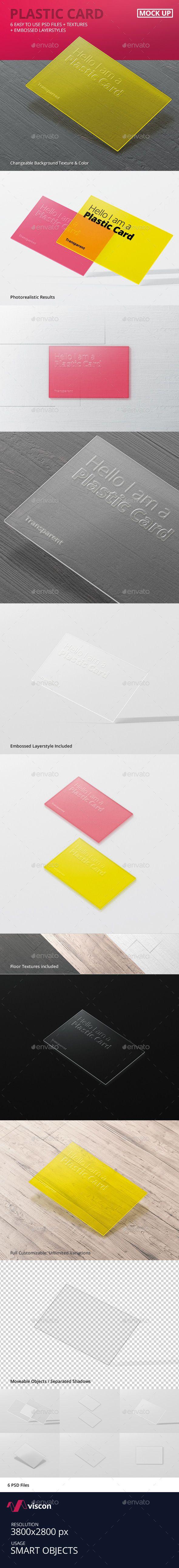 Plastic Business Cards Mock-Ups #design Download: http://graphicriver.net/item/plastic-business-cards-mockups/13591843?ref=ksioks