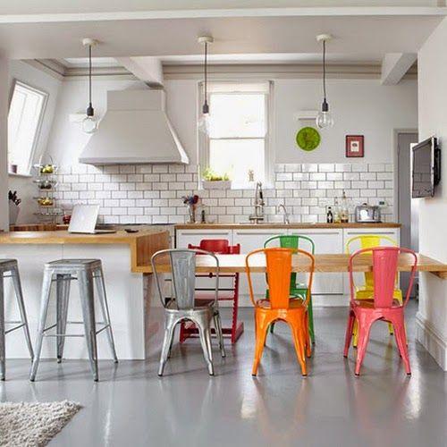 SILLA TOLIX, UN ICONO DE LA ESTÉTICA INDUSTRIAL | Decorar tu casa es facilisimo.com