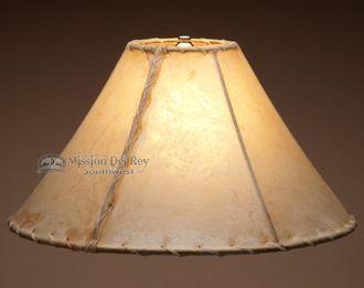 "Southwestern Rawhide Lamp Shade 16"""""