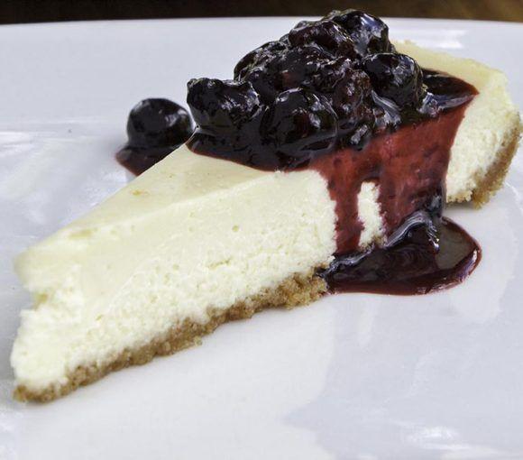 Camp Chef Triple Berry Cheesecake