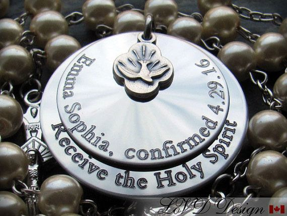 Confirmation Gift. Personalized. Custom. by BaptismGifts on Etsy