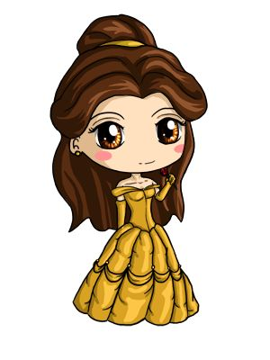 Belle Chibi By Icypanther1 Deviantart Com On Deviantart