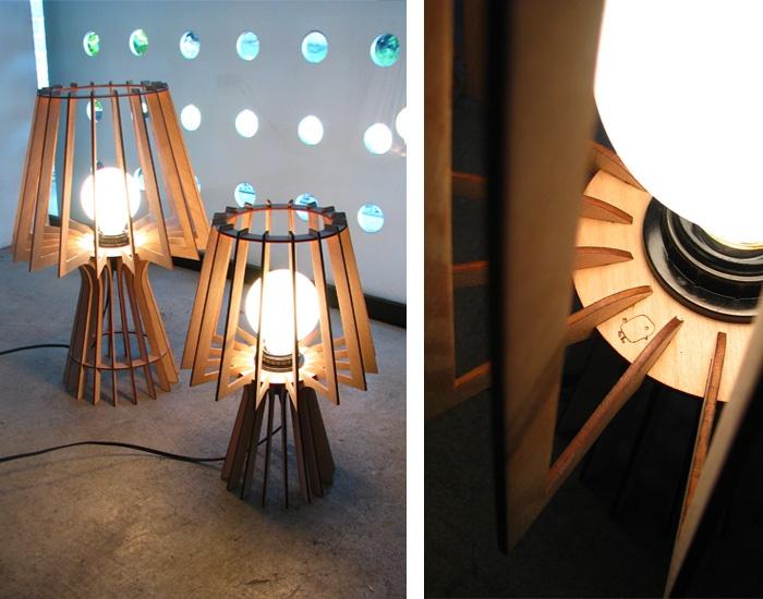 lámpara costillas