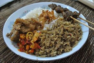 Lawar Bali (Balinese food)