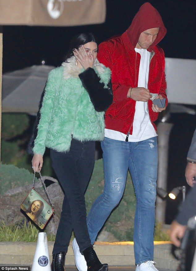Start as you mean to go on: Kendall Jenner kicked off 2018 with a romantic date night with NBA star boyfriend Blake Griffin at Nobu in Malibu, California, on Monday