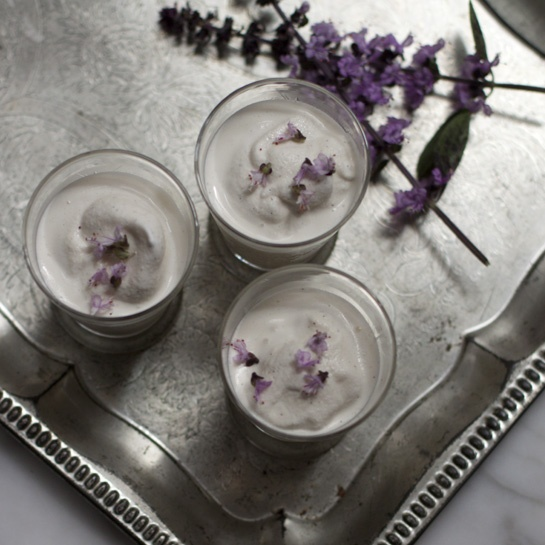 """Lillet milkshakes - """"the Lillet brings a subtle booziness and fragrant citrus flavors to the creamy slush"""""""