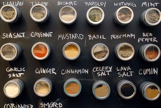Porta Tempero Magnético Aço Inoxidável Casa Cozinha Imã Geladeira Chef Chá Ervas O melhor preço e qualidade do mercado á na Utifácil R$24,90