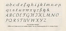 das lateinische Alphabet  Offenbacher Schrift – Wikipedia