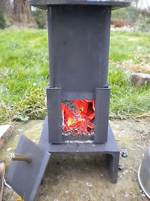 Miniature Mini Wood Coal Burner stove heater shed summerhouse workshop garage 1