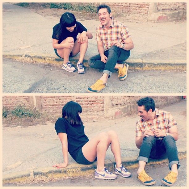Con mi sobrina disfrutamos hasta en las cunetas ❤️ #friends #santiago #cool #urban #street #pretty #love #casual #inspiring  http://instagram.com/fcnormand/