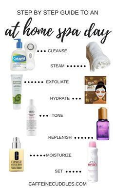 DIY Beauty: At home Spa day. 8 Simple Steps for a DIY at Home facial - #Beauty #day #DIY #FACIAL #Home #Simple #Spa #steps #MonthlyBeautyRoutine