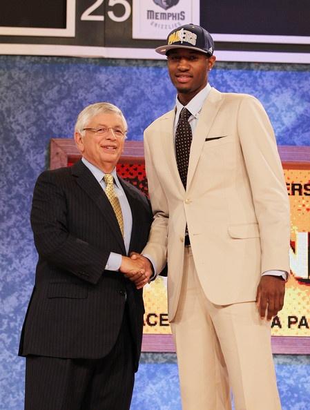 Paul George Indiana Pacers NBA Draft David Stern
