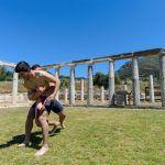 Mε επιτυχία πραγματοποιήθηκαν οι Αγώνες Αρχαίου Πεντάθλου στο Στάδιο της Αρχαίας Μεσσήνη