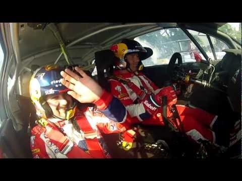 Sebatien Loeb and Daniel Élena - 8 years, 8 times champion of the world