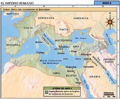 Império Romano - Mapas Bíblicos