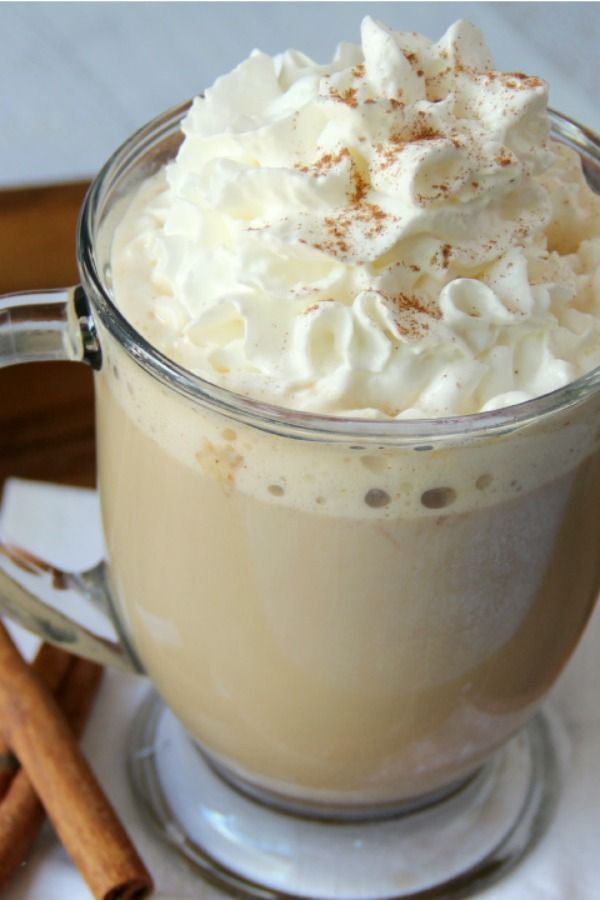 Recreate a coffee-shop fave right in the slow cooker. Make it a skinny pumpkin spice latte by using skim milk, and add a little pumpkin spice on top for an extra flavor boost. This would be a great addition to a fall baking party, potluck or even Thanksgiving!