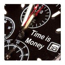 Az idő pénz falikép