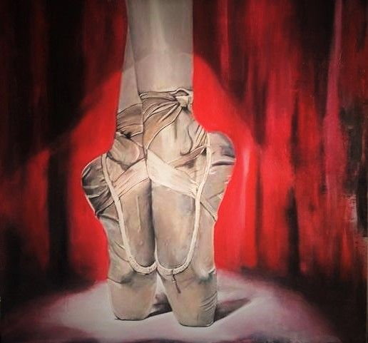 Acrilico 100 x 100 '' Passion and Sacrifices '' FOR SALE - 2016