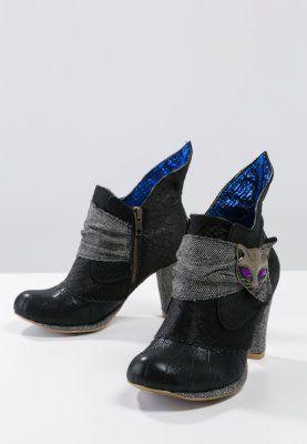 Irregular Choice - MIAOW - Korte laarzen - Zwart