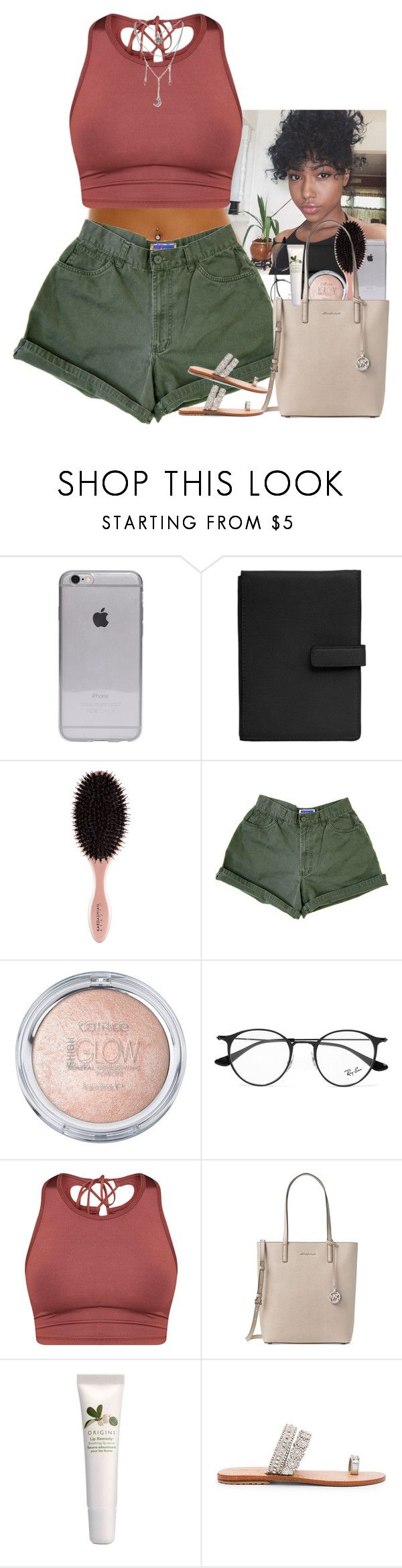 """""""Drake- Passionfruit"""" by mxnvt ❤ liked on Polyvore featuring TravelSmith, Ray-Ban, Michael Kors, Origins and Mystique"""