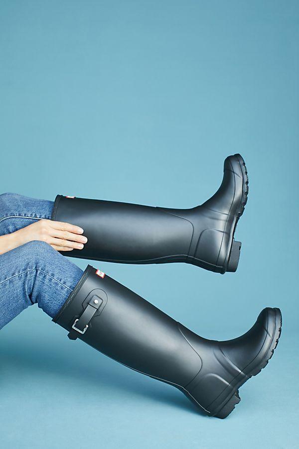 Slide View: 3: Hunter Original Tall Rain Boots