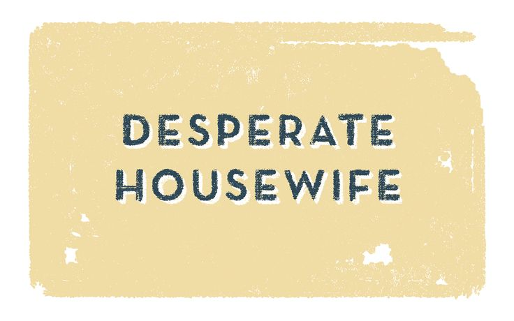 Desperate Housewife on Behance