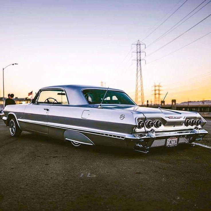 1963 Chevy Impala. Great ride.