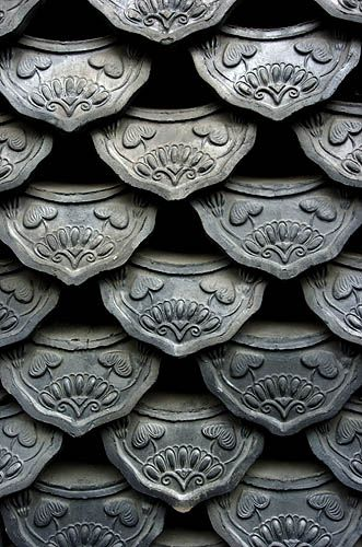 Korean roof tiles