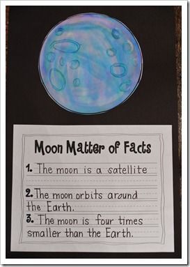Moon facts and mixing it up with some moon stories like Hey, diddle, diddle, the man in the moon and is the moon really made of green cheese.  Fact or fiction? It is all fun!