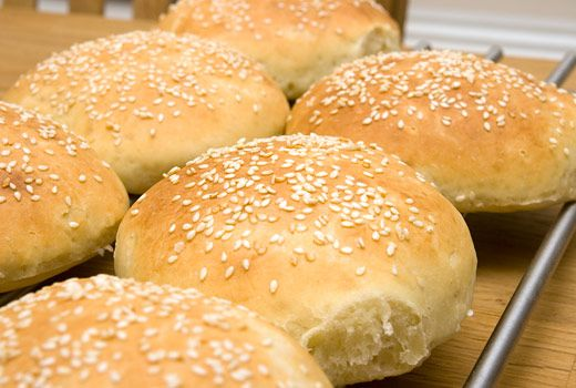 Hamburgerbröd - perfekt!