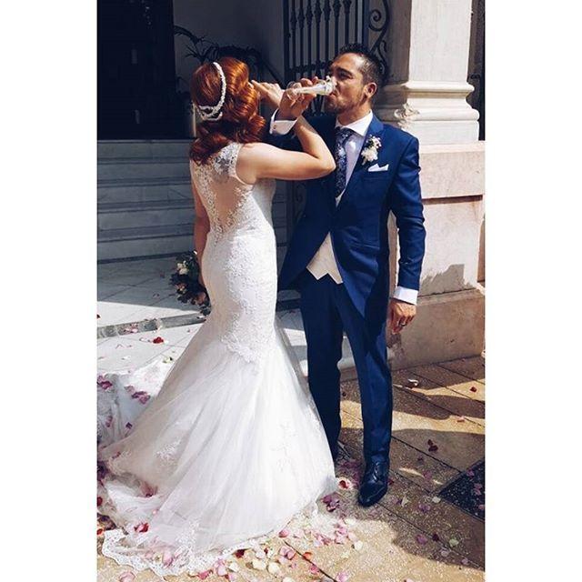 Gracias por este avance Lorena, ibas ❤❤❤ #feliznoche   #BeToscana💚   #NoviasToscana bride #tocados   #ToscanaBride