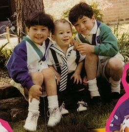 The Jonas Brothers.   I do miss them on Disney. Good music for Tweens . And good look in', too.