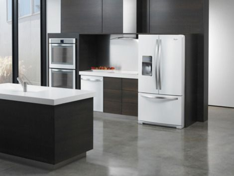 White Ice gives your kitchen a clean slate.: Kitchens, White Ice, Appliances, Ice Collection, Whiteice, White Appliance, Kitchen Ideas, Whirlpool, Stainless Steel