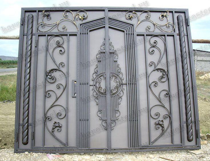 Art.8926 - Ворота классические & 21 best Final gate images on Pinterest   Iron doors Iron gates and ...