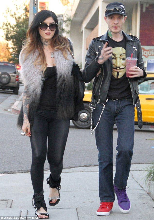 Splitsville: Kat Von D and DJ Deadmau5 have broken up after dating for two months