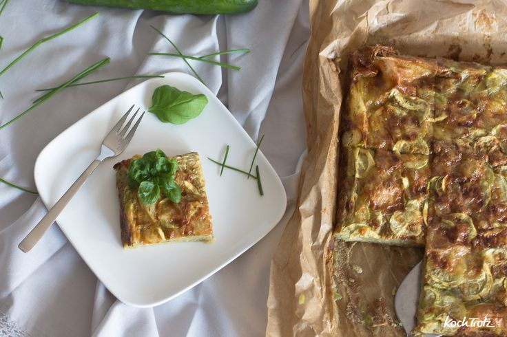 Gâteau invisible | Superkuchen mit Zucchini | ohne Mehl | low-carb