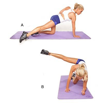 Are your butt and thighs dragging you down? Here are the four moves to add for real results.   Health.com