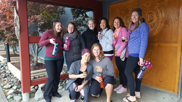 A Short Recap of Hot Mama's Yoga/Surf Retreat 2015. It's not the location, the surfing, the bootcamps, the yoga, the paddleboarding, or the food that makes our Annual Yoga/Surf Retreat one of my favorite weekends of the year. It's the Hot Mamas! #hotmamafit #tofino