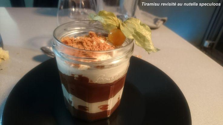 tiramisu revisité au nutella speculoos / Côté rôtisserie - Evreux (27)   (avis restau complet sur le blog)
