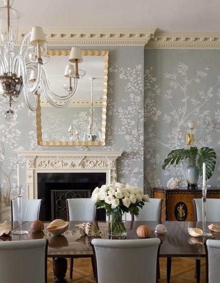 The 25+ best Dining room wallpaper ideas on Pinterest | Room ...