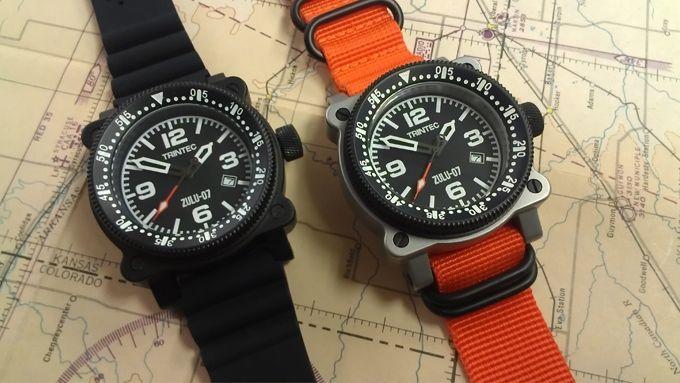 ZULU-07 PRO - Aircraft Inspired Automatic Wrist Watches